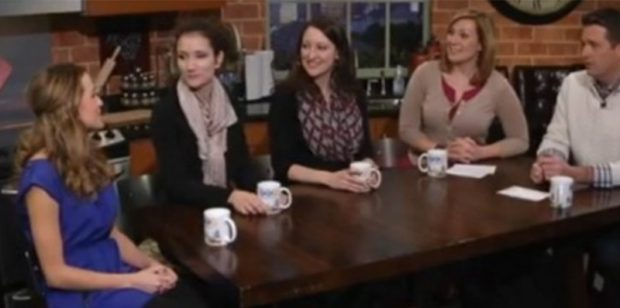 Healthy Eating Panel on Channel 5